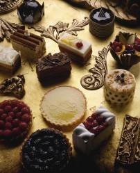 Fruit Tarts and Petit Fours