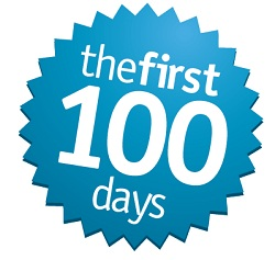 First 100 Days by Kivi Leroux Miller